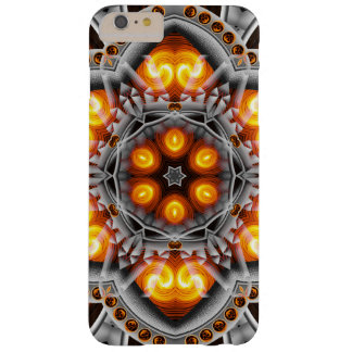 Metal & Flame Mandala Barely There iPhone 6 Plus Case