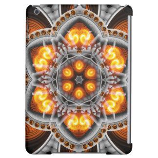Metal & Flame Mandala Case For iPad Air