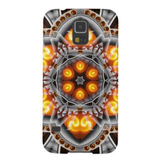 Metal & Flame Mandala Galaxy S5 Covers