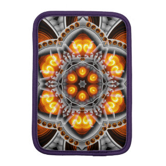 Metal & Flame Mandala iPad Mini Sleeves