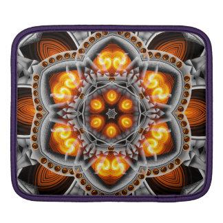 Metal & Flame Mandala iPad Sleeves