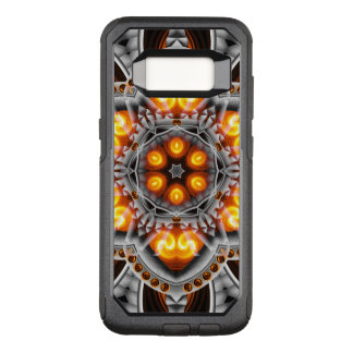 Metal & Flame Mandala OtterBox Commuter Samsung Galaxy S8 Case