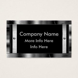Metal Frame Border Business Cards