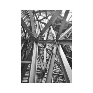 Metal Frame Work Canvas Print