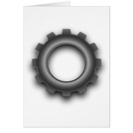 Metal Gear Cog Greeting Cards
