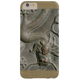METAL GOLDEN DRAGON READY TO JUMP BARELY THERE iPhone 6 PLUS CASE