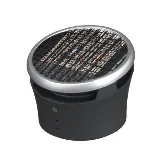 metal grate bluetooth speaker