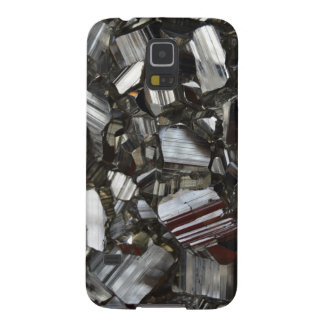 Metal Gray Shiny Quartz Crystals Galaxy S5 Case