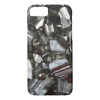 Metal Gray Shiny Quartz Crystals iPhone 7 Case