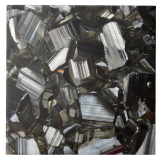 Metal Gray Shiny Quartz Crystals Tiles