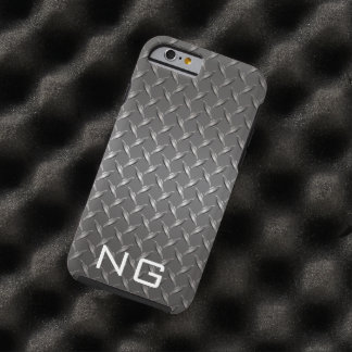 Metal Grill grating Custom Monogram Tough iPhone 6 Case