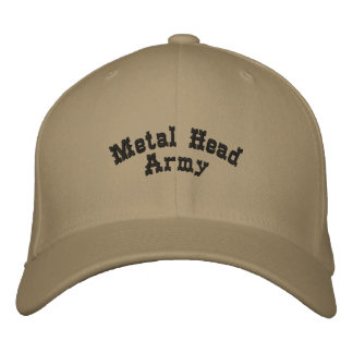 Metal Head Army Embroidered Hat