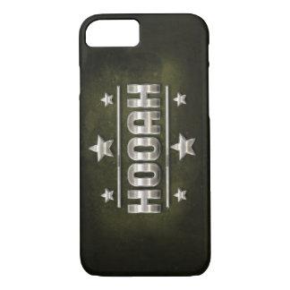 Metal Hooah Text iPhone 7 Case