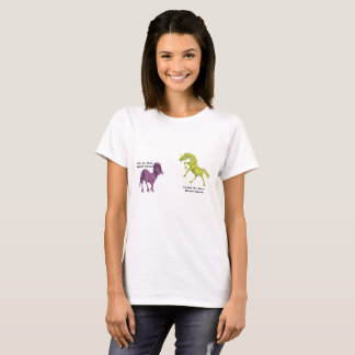 Metal-Horned Unicorn Couple - Style and Cornum T-Shirt