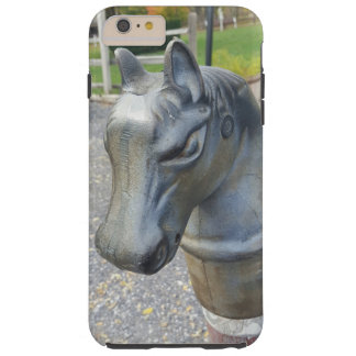 Metal Horse Parking Pole Tough iPhone 6 Plus Case