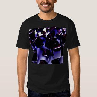 metal ice cubes tee shirt
