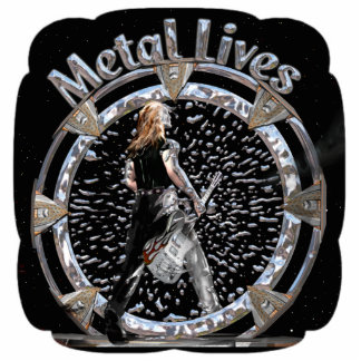 Metal Lives! Sculpture Standing Photo Sculpture