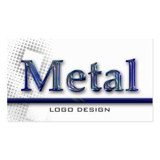 METAL LOGO DESIGN K | Welding Business Cards