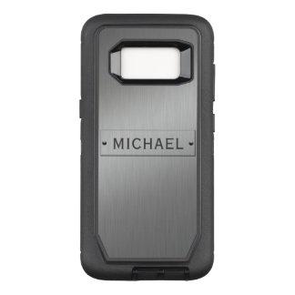Metal Look custom name phone cases