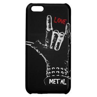 Metal   Love iPhone 5C Cases