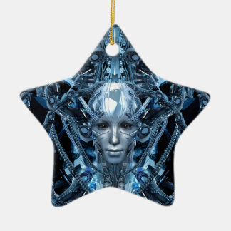 Metal Maiden Ceramic Ornament