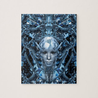 Metal Maiden Jigsaw Puzzle