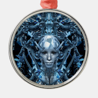 Metal Maiden Metal Ornament
