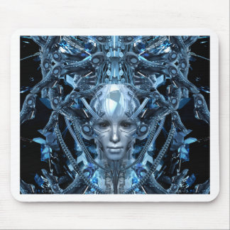 Metal Maiden Mouse Pad