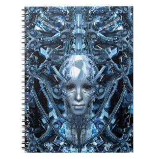 Metal Maiden Notebook