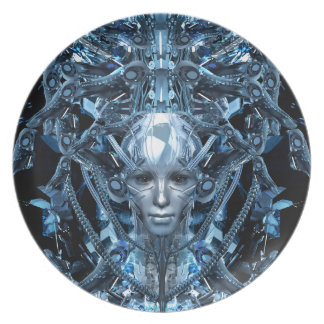 Metal Maiden Plate