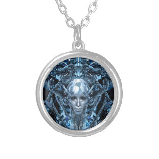 Metal Maiden Silver Plated Necklace