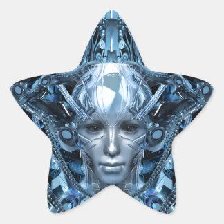 Metal Maiden Star Sticker