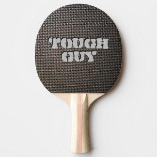 Metal mesh design ping pong paddle