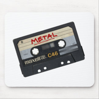 Metal Mix Tape Mouse Pad
