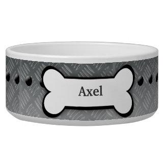 Metal Plate Customized Pet Dog Food Bowl