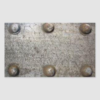 Metal Plate With Screws Sticker