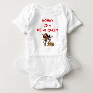 METAL queen Baby Bodysuit