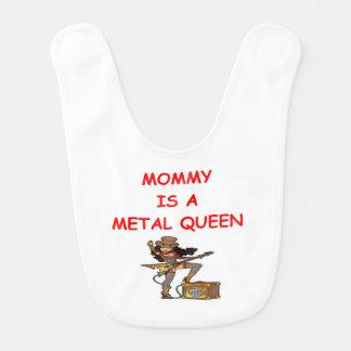 METAL queen Bib