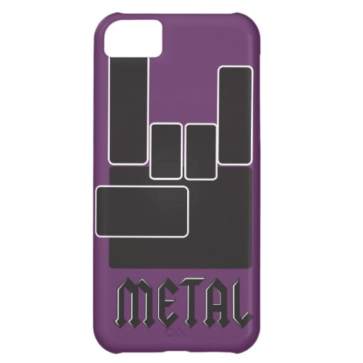 Metal Rocks! Cover For iPhone 5C
