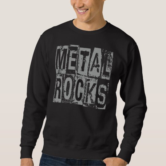 Metal Rocks Sweatshirt