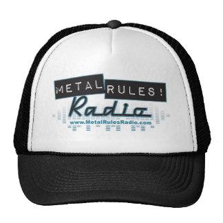 Metal Rules Radio Logo Hat