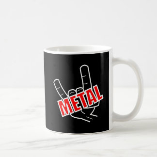 Metal Salute Coffee Mug