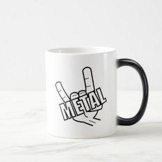 Metal Salute Magic Mug