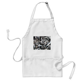 metal scrap tangle standard apron