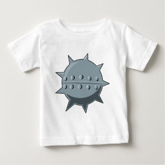 Metal sea mine shirt