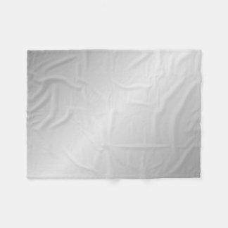 Metal Silver Look Fleece Blanket