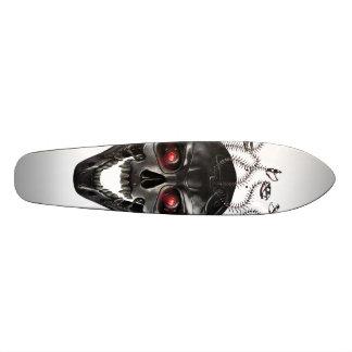Metal Skull of Medusa Skateboard Deck