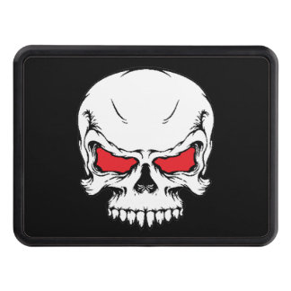 Metal Skull Tow Hitch Trailer Hitch Cover