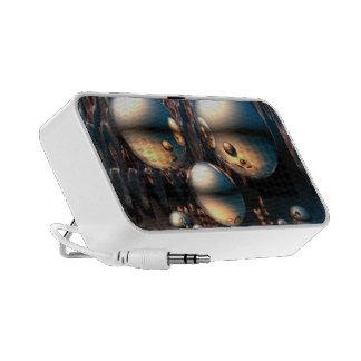 Metal Spheres - 3D Travelling Speakers