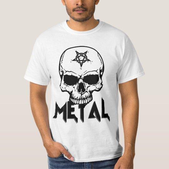 METAL T-Shirt - Music, Metalhead, Rocker